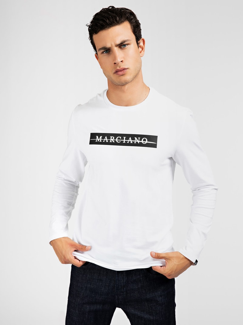 T-SHIRT LOGO FRONTAL MARCIANO image number 0