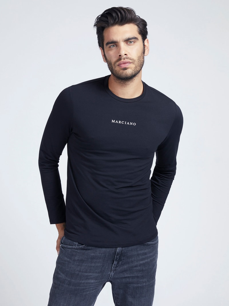 MARCIANO T-SHIRT FRONTLOGO image number 0