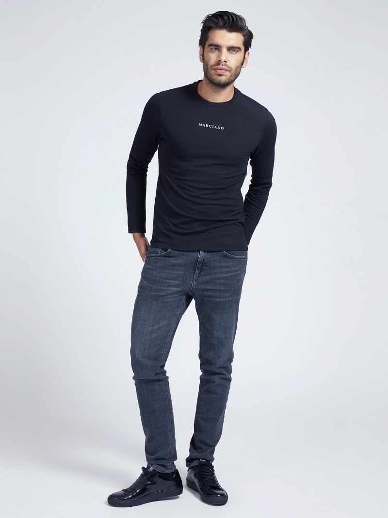 MARCIANO T-SHIRT FRONTLOGO image number 1
