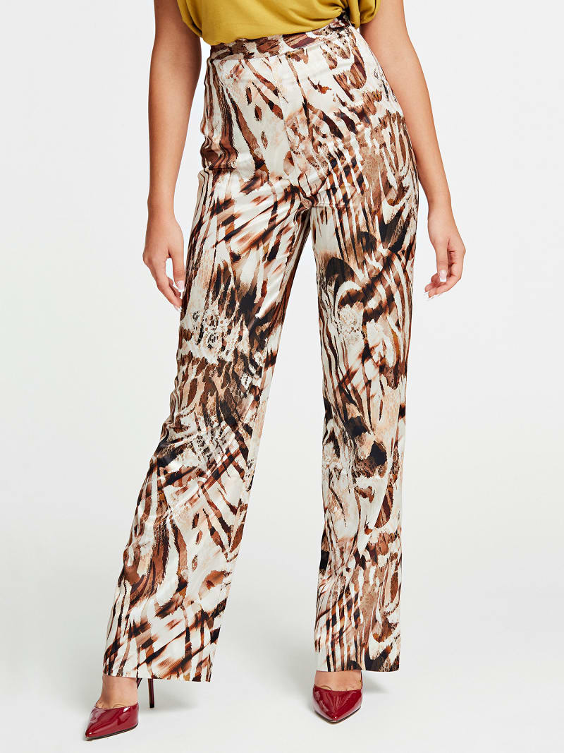 PANTALONE STAMPA ANIMALIER MARCIANO image number 0