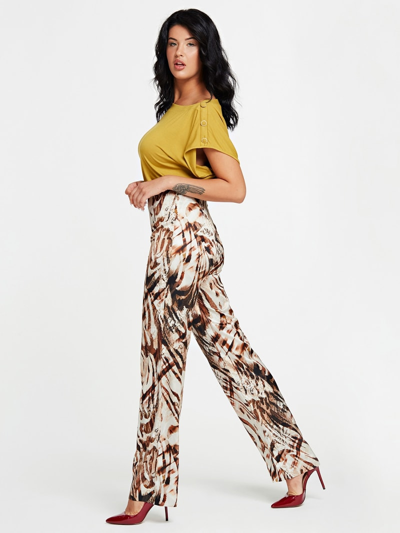 MARCIANO ANIMAL PRINT PANT image number 1