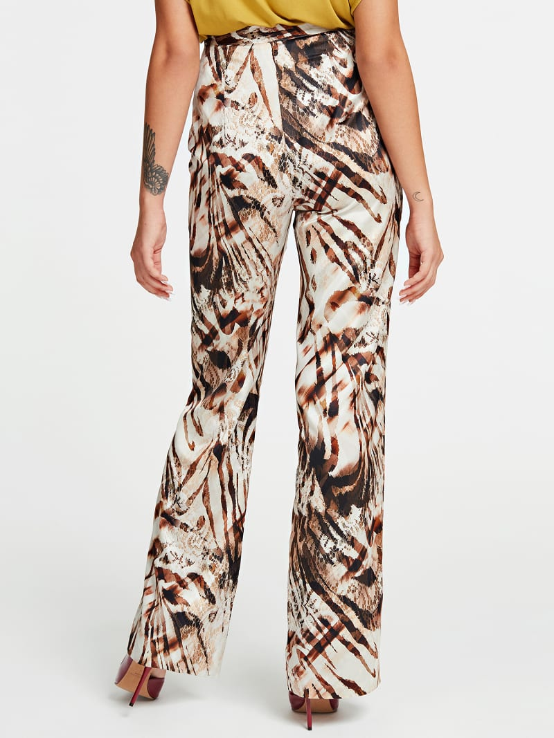 MARCIANO ANIMAL PRINT PANT image number 2