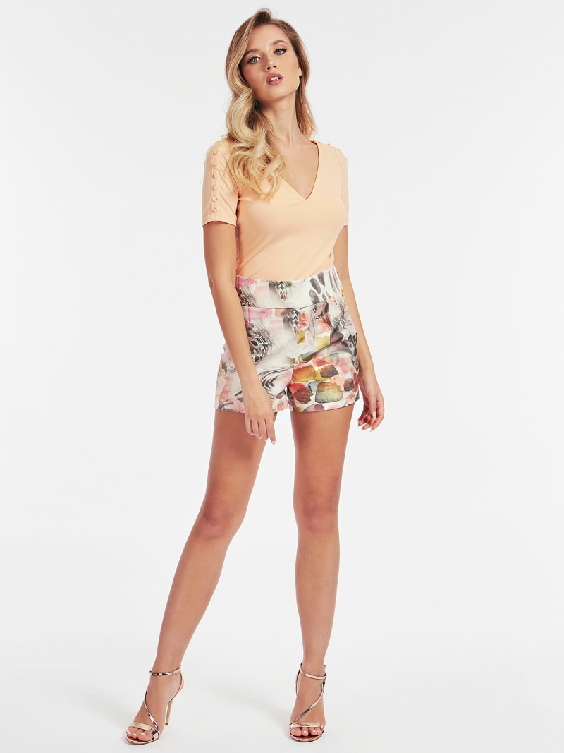 MARCIANO PRINTED SHORTS image number 1