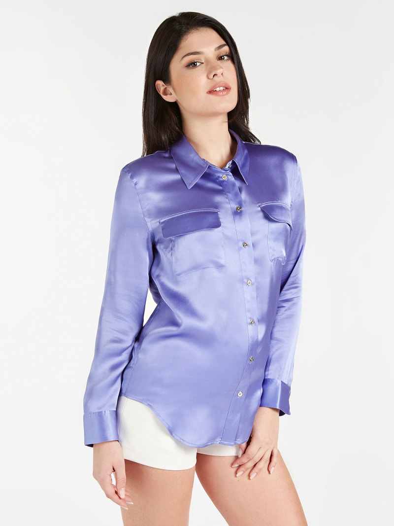 MARCIANO SILK SHIRT image number 0