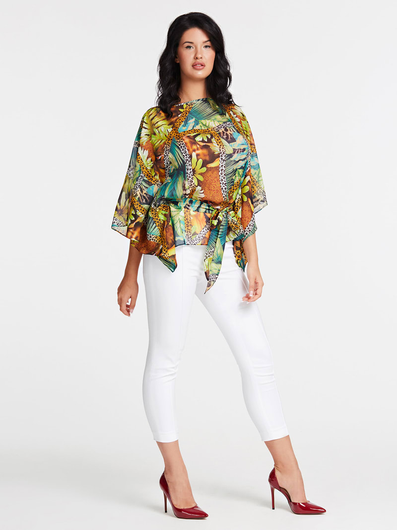 MARCIANO SILK BLOUSE image number 1