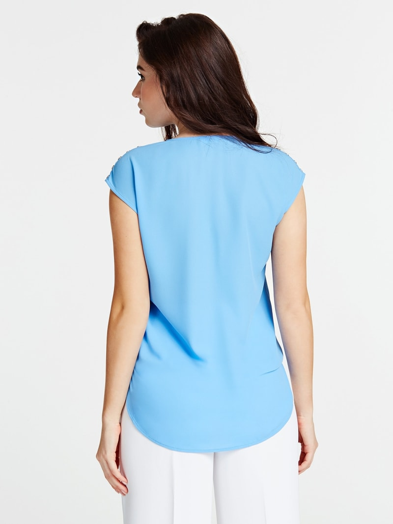 MARCIANO BLOUSE KNOPEN image number 1