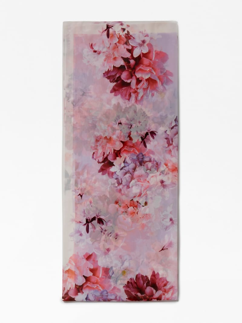 MARCIANO FLORAL PRINT SCARF image number 0