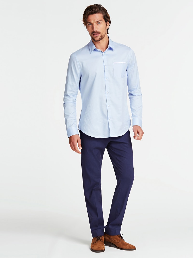 MARCIANO FRAYED EFFECT SHIRT image number 0