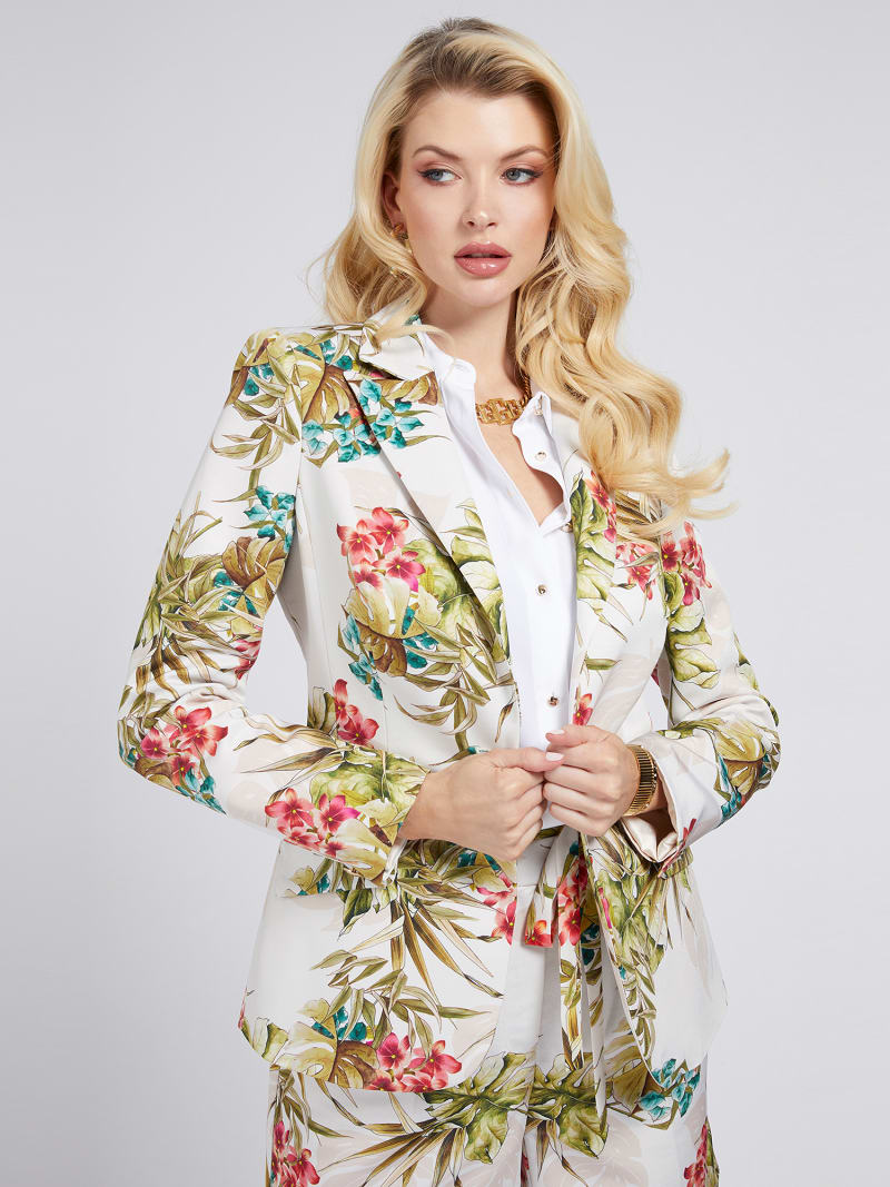 BLAZER MARCIANO STAMPA FLOREALE image number 0