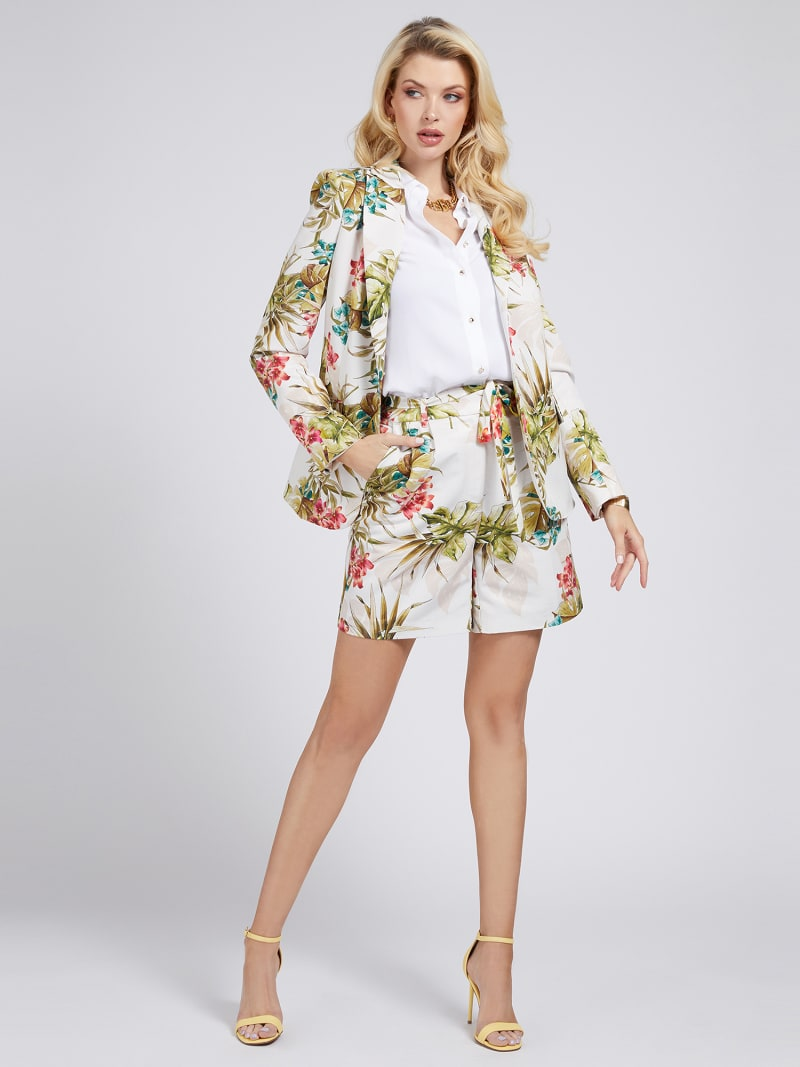 BLAZER MARCIANO STAMPA FLOREALE image number 1