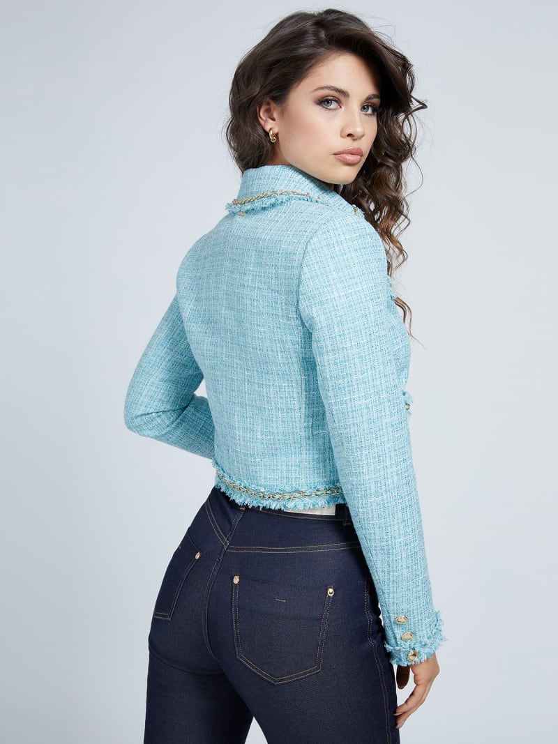 BLAZER MARCIANO TWEED image number 2