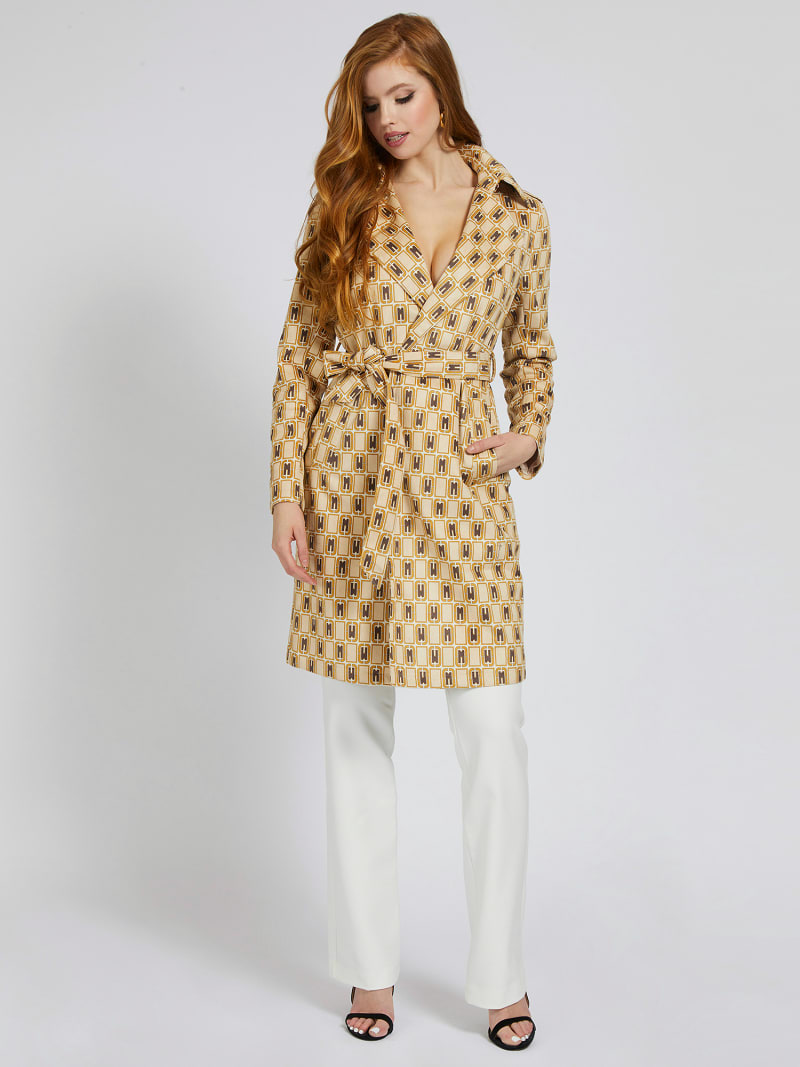MARCIANO BELTED COAT image number 0