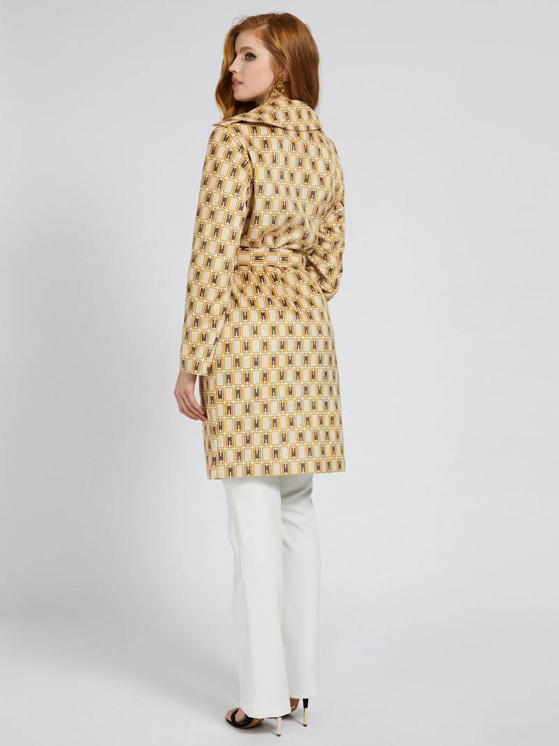 MARCIANO BELTED COAT image number 1