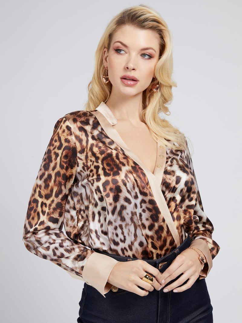 MARCIANO PRINT BLOUSE image number 0