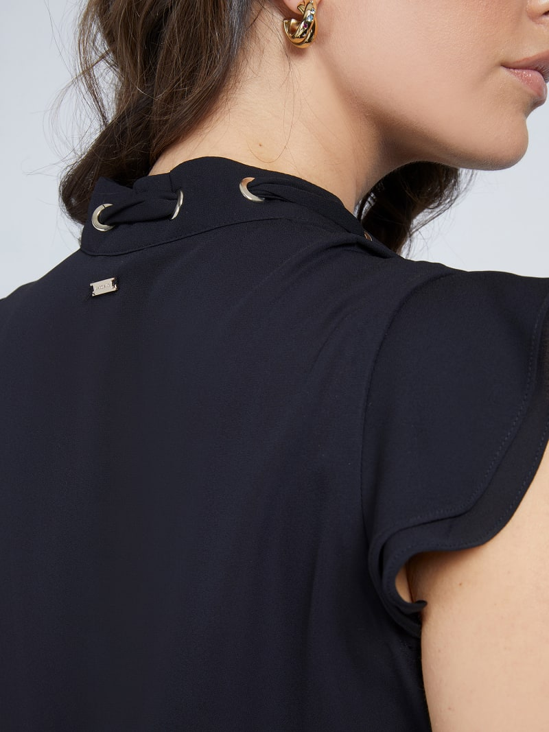 MARCIANO EMBROIDERED TOP image number 3