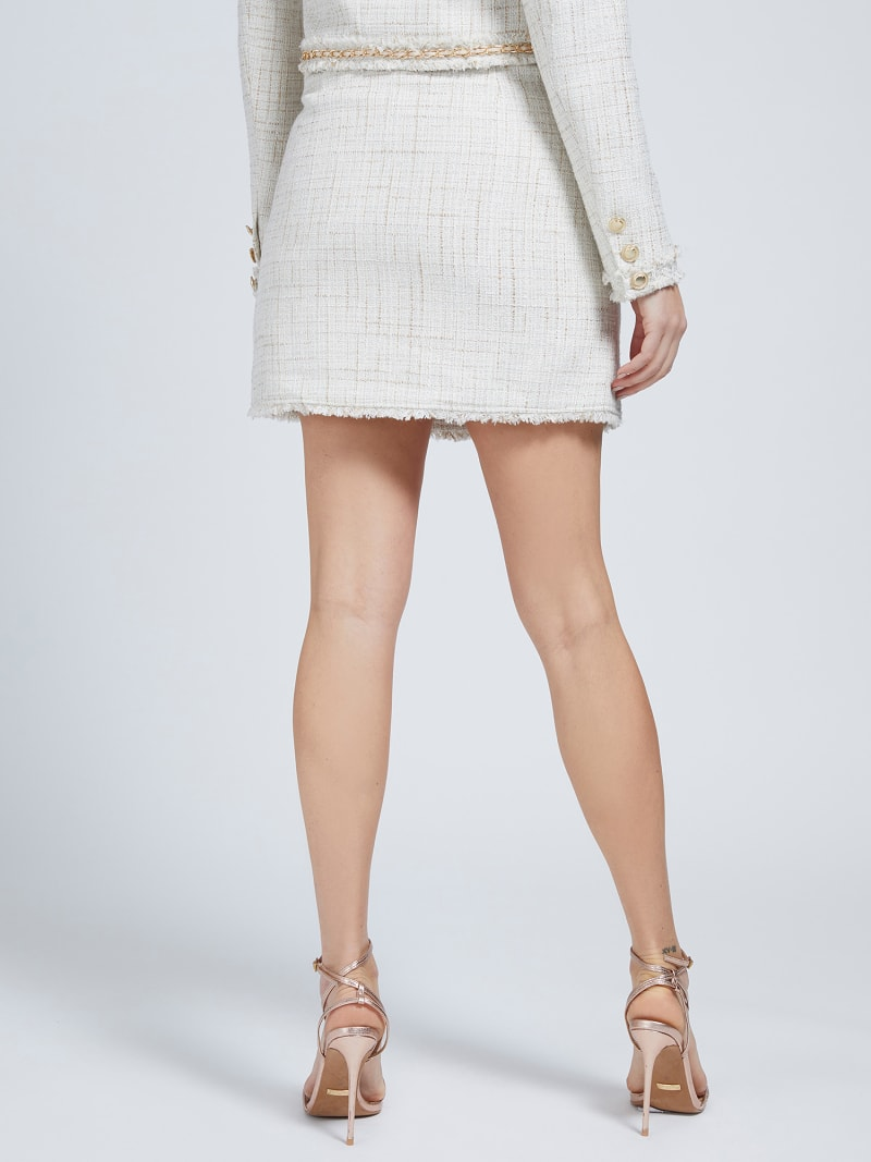 MARCIANO TWEED MINI SKIRT image number 2