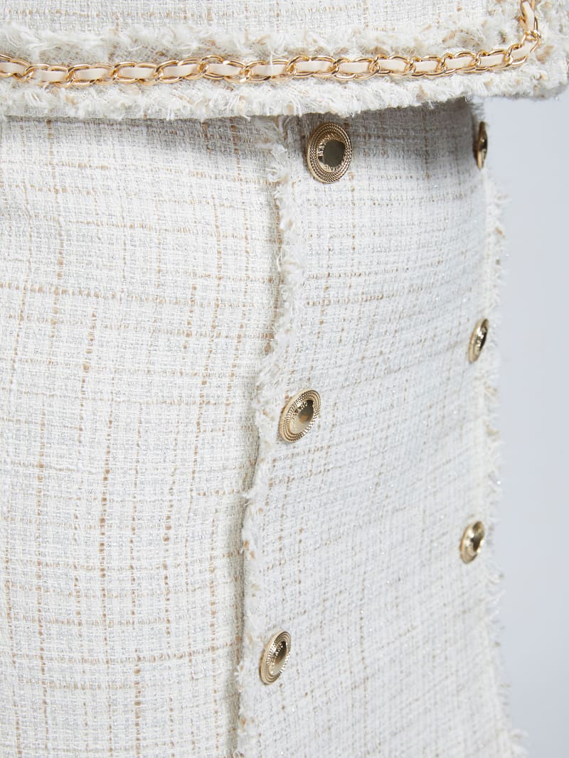 MARCIANO TWEED MINI SKIRT image number 3