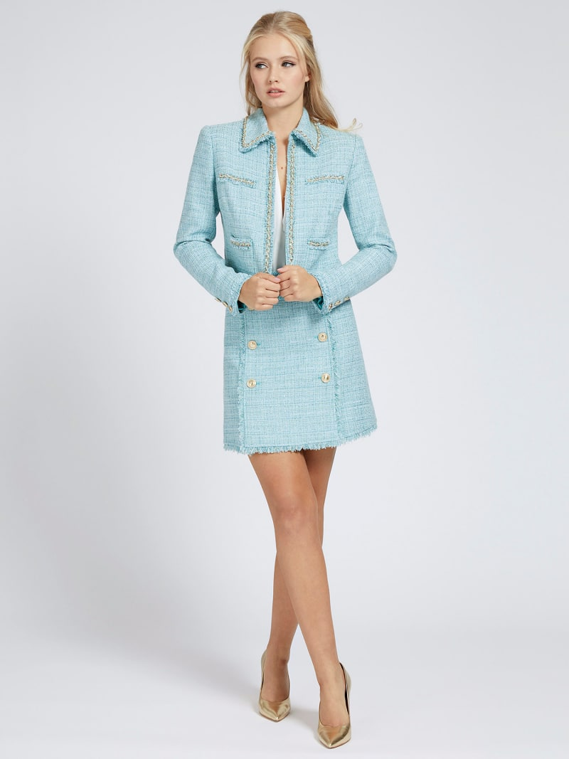 MARCIANO TWEED MINI SKIRT image number 1