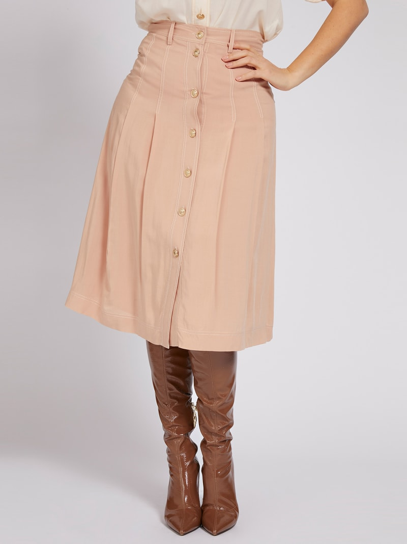 MARCIANO SKIRT BUTTONS  image number 0