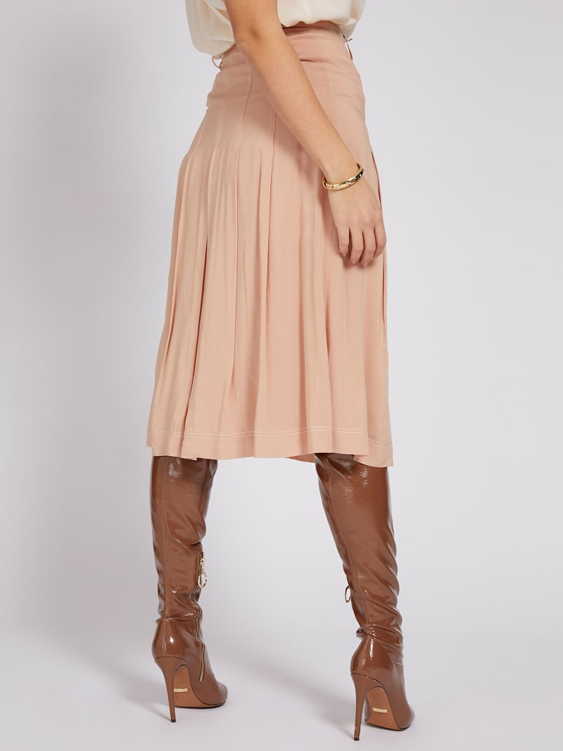 MARCIANO SKIRT BUTTONS  image number 2