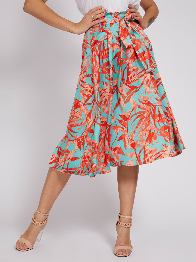 MARCIANO CALF-LENGTH SKIRT image number 0