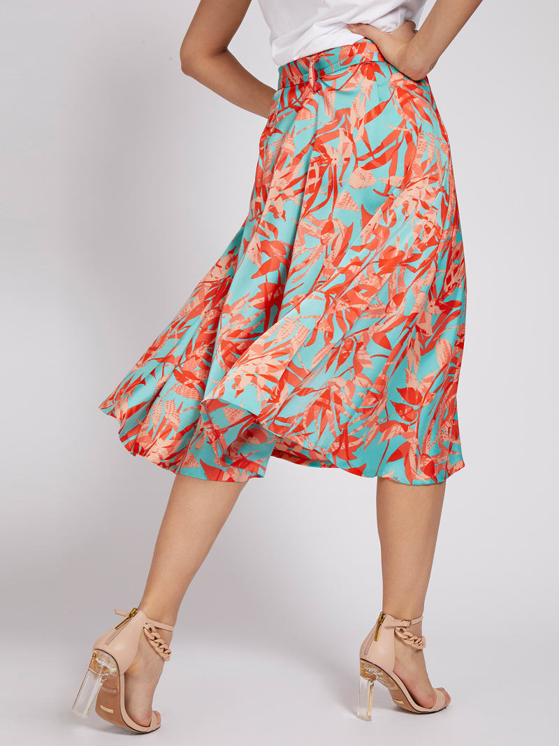 MARCIANO CALF-LENGTH SKIRT image number 2