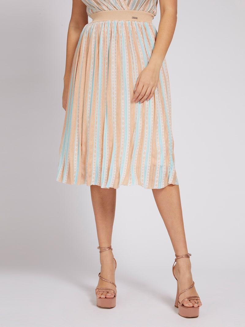 MARCIANO PLEATED SKIRT image number 0