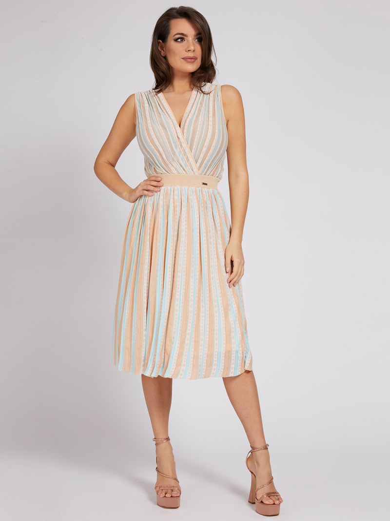 MARCIANO PLEATED SKIRT image number 1