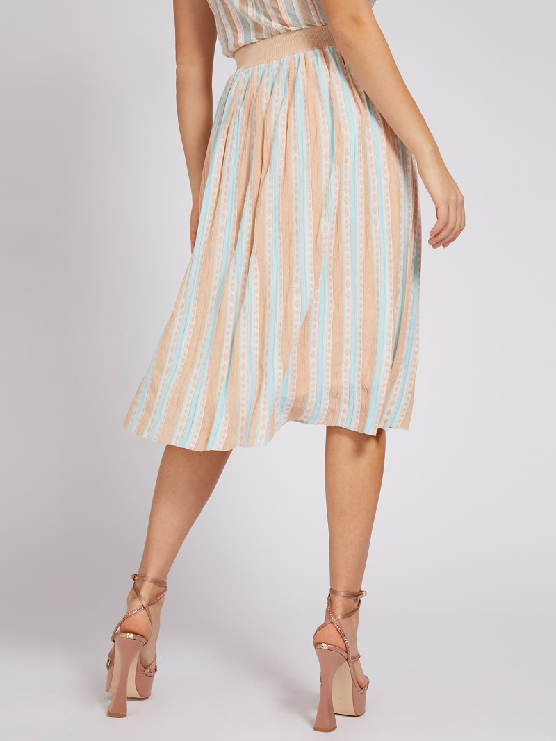 MARCIANO PLEATED SKIRT image number 2