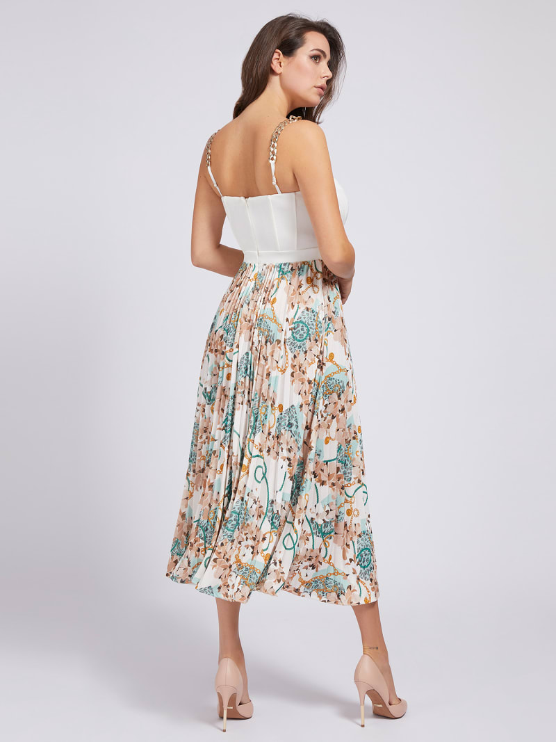 MARCIANO PRINT DRESS image number 1