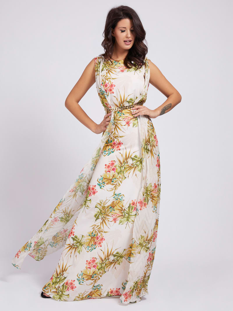 MARCIANO PRINT DRESS image number 0