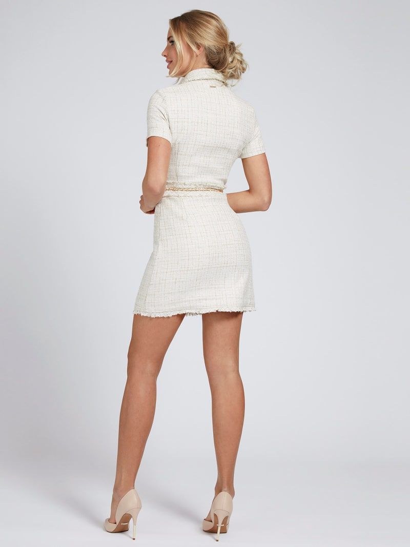 MARCIANO TWEED-LOOK DRESS image number 2