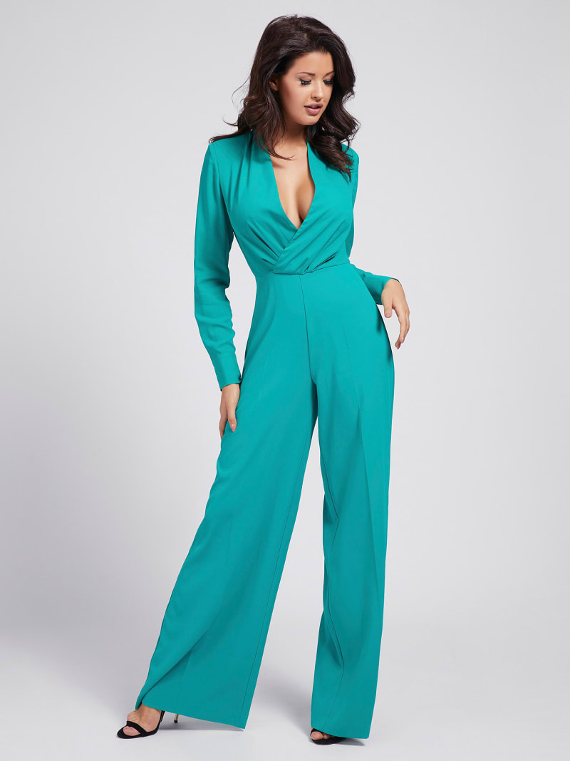 MARCIANO CREPE JUMPSUIT image number 0