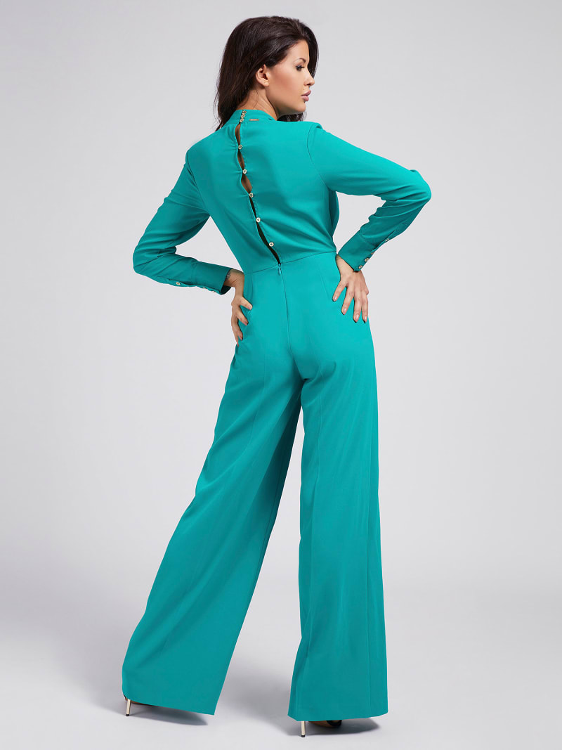MARCIANO CREPE JUMPSUIT image number 1