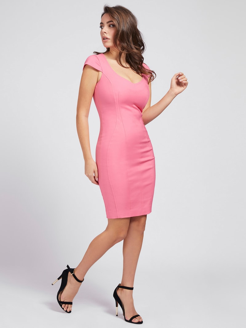 MARCIANO CLOSE-FITTING DRESS image number 0