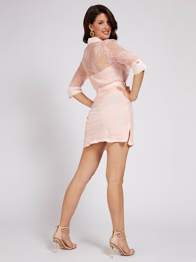 MARCIANO LACE DRESS image number 1