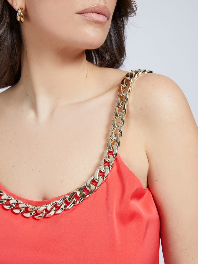 MARCIANO SHORT JUMPSUIT CHAIN image number 3