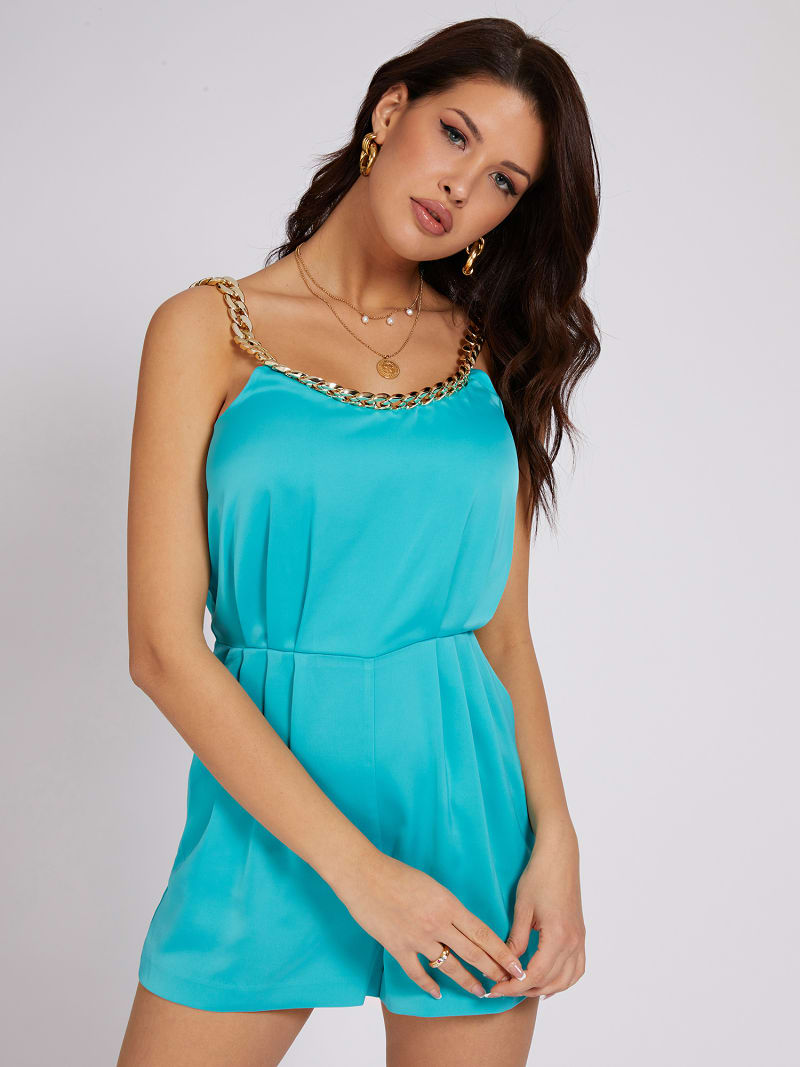 MARCIANO SHORT JUMPSUIT CHAIN image number 0