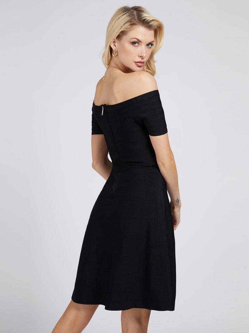 MARCIANO OFF-SHOULDER DRESS image number 2