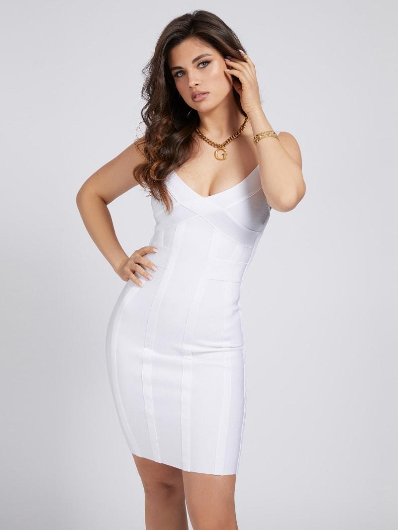 MARCIANO BANDAGE DRESS image number 0