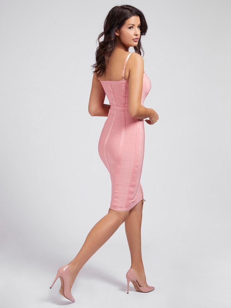 MARCIANO DRESS FRONT ZIP image number 1