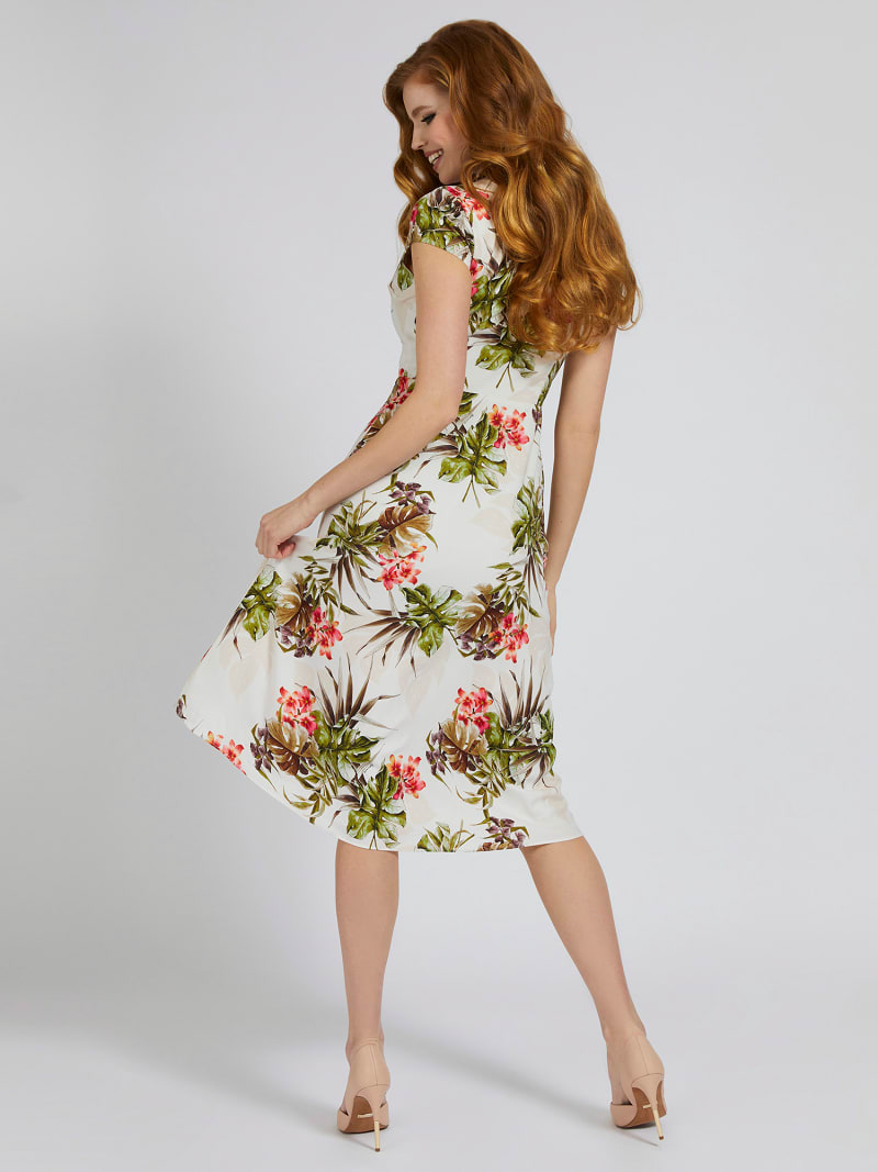 MARCIANO FLORAL LONG DRESS image number 1