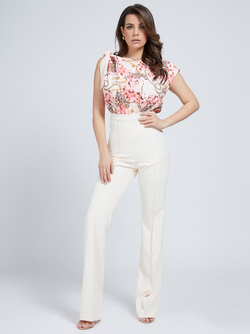MARCIANO JUMPSUIT BOW image number 0
