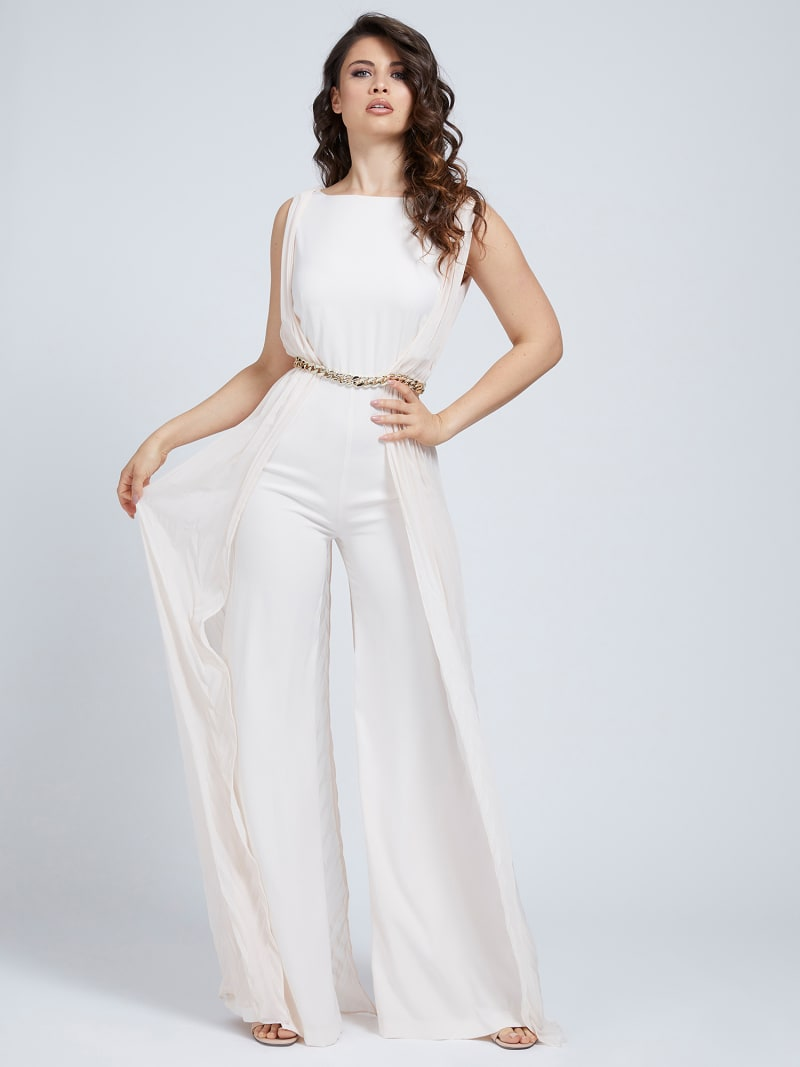 MARCIANO PLEATED JUMPSUIT image number 0