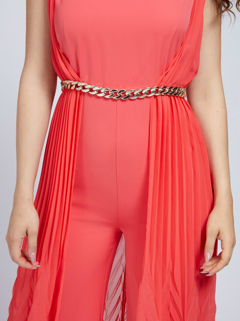 MARCIANO PLEATED JUMPSUIT image number 2