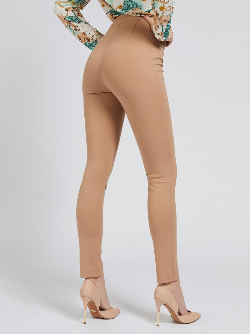 MARCIANO SKINNY PANT ZIPS image number 2