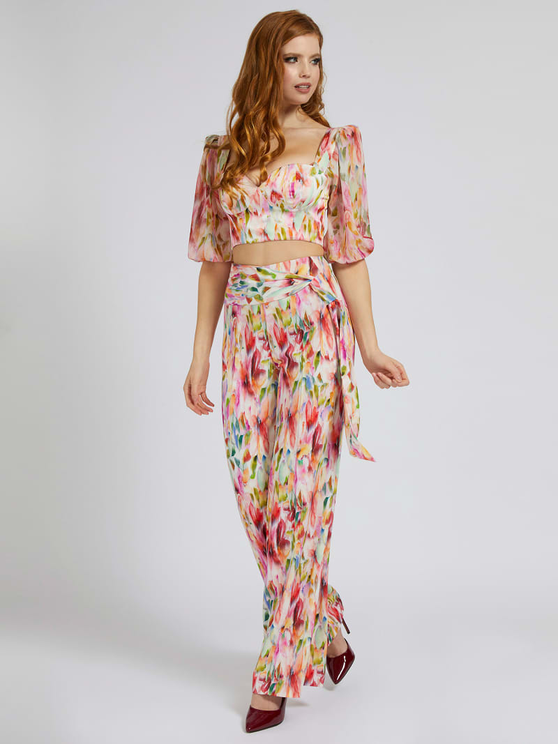 MARCIANO ALL-OVER PRINT PANT image number 1