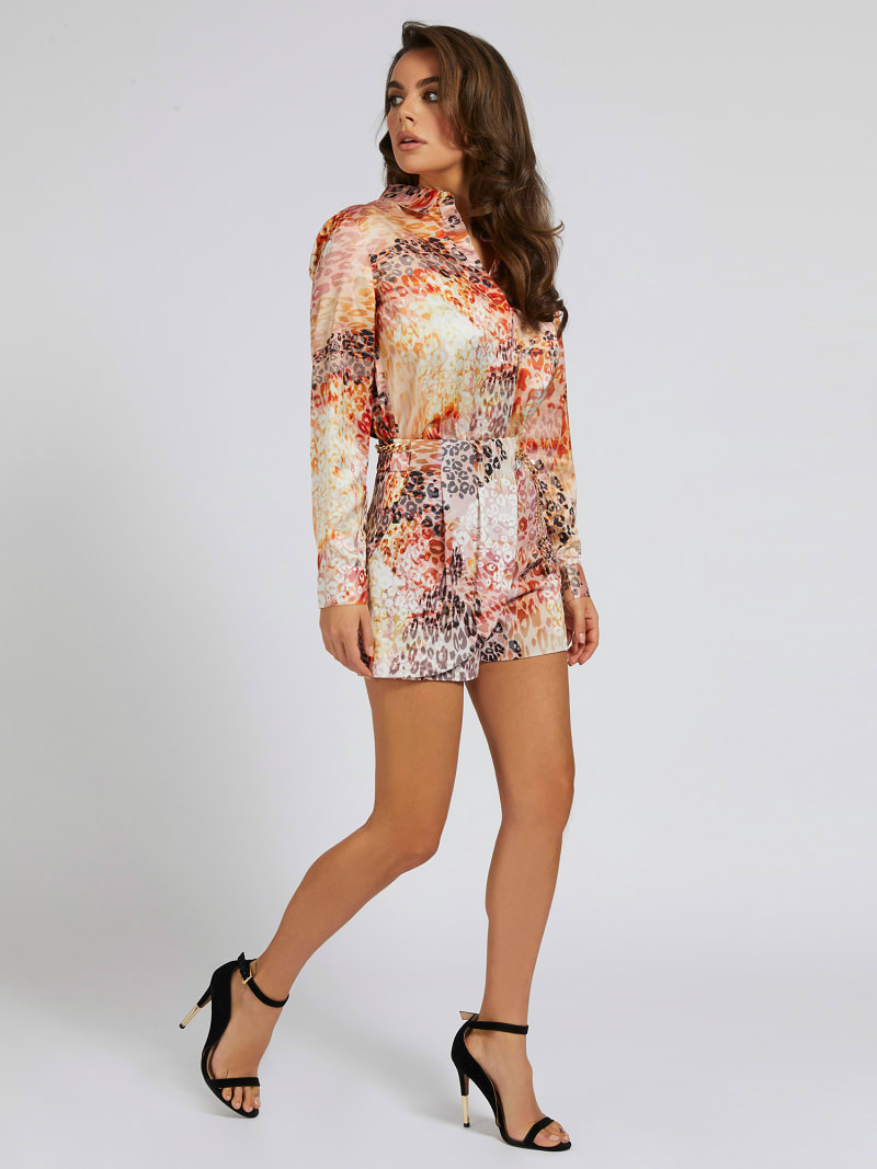MARCIANO ALL-OVER PRINT SHORTS image number 1