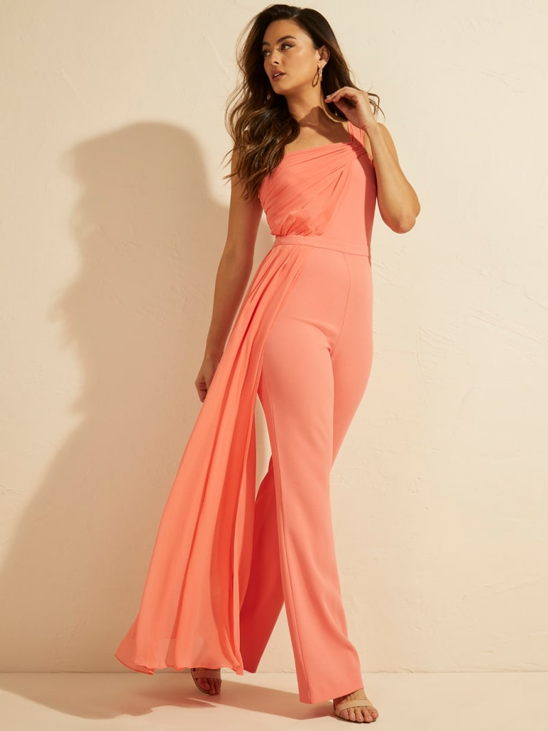 MARCIANO DRAPED JUMPSUIT image number 0