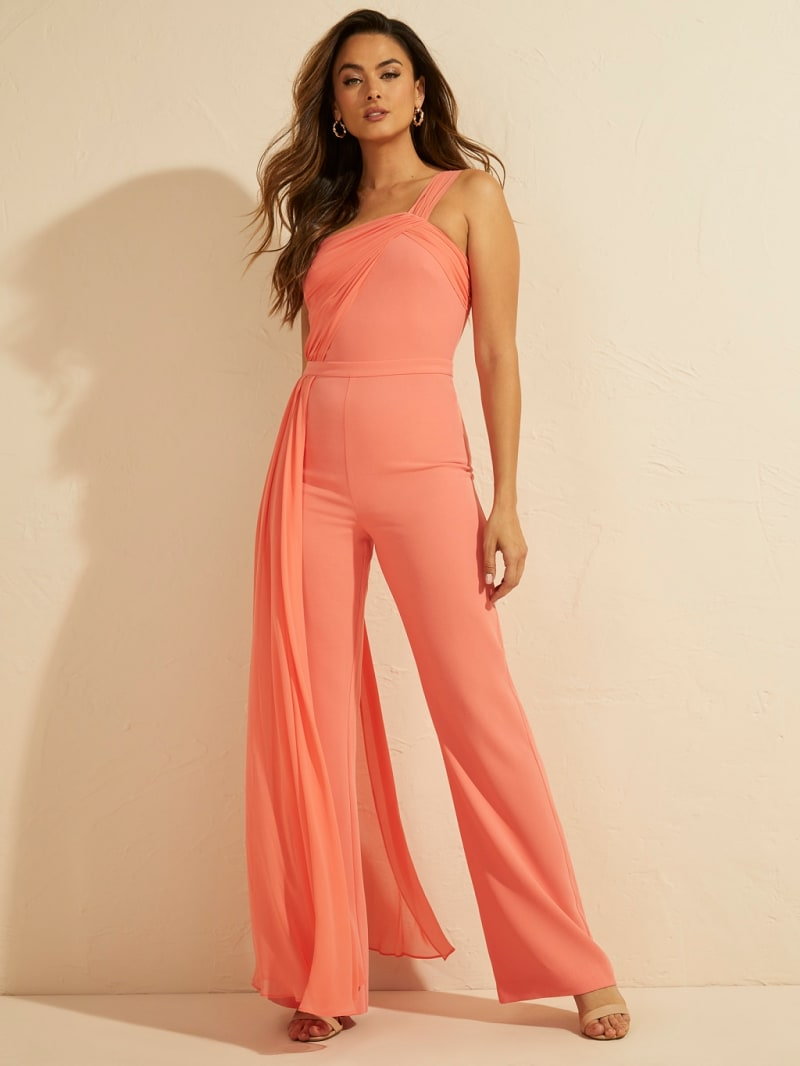 MARCIANO DRAPED JUMPSUIT image number 1
